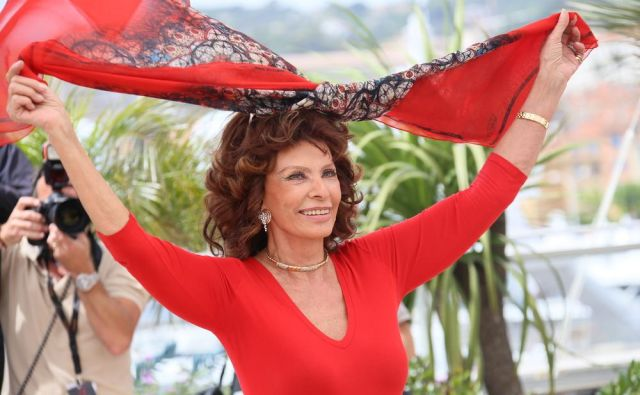 Sophia Loren Foto Shutterstock