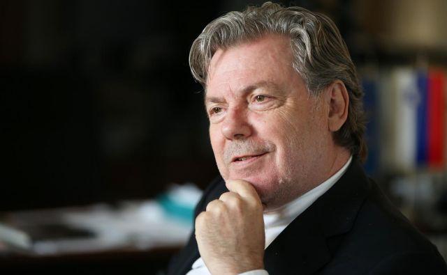 Vojko Volk, diplomat, trenutno generalni konzul Republike Slovenije v Trstu. Foto: Jure Eržen/Delo