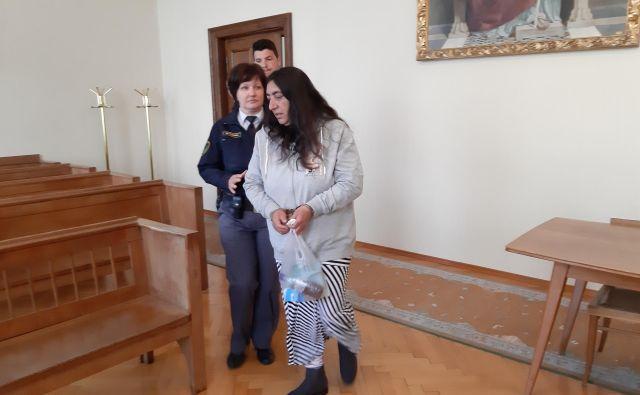 Valerija Kovačič je oktobra odprla račun, do novembra je bila bogatejša za 44.000 evrov. FOTO: Tanja Jakše Gazvoda