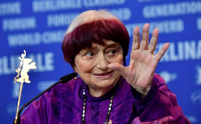 Agnes Vada na letošnjem 69. Berlinalu. FOTO: Tobias Schwarz/AFP