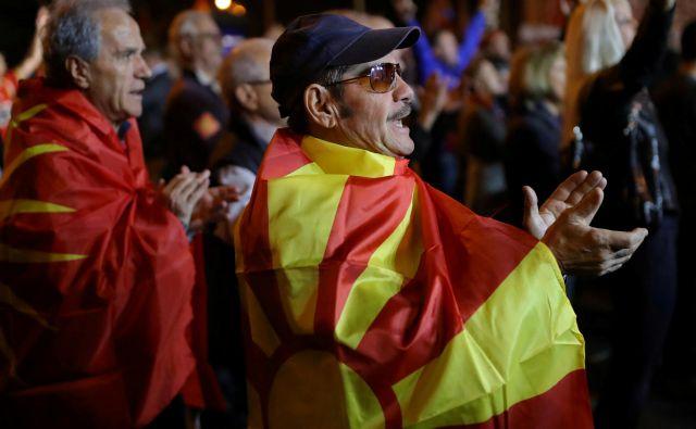 Gordana Siljanovska Davkova bi, če bi postala predsednica, naredila vse, da bi spremenila ime Severne Makedonije nazaj v Makedonijo. FOTO: Reuters