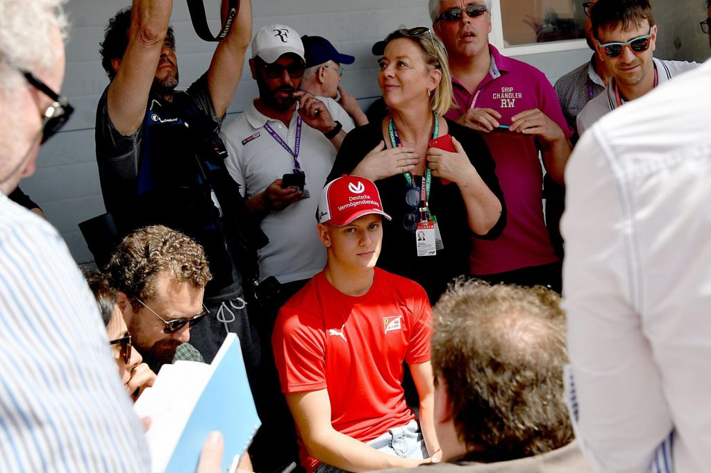 FOTO:Spet Schumacher v ferrariju