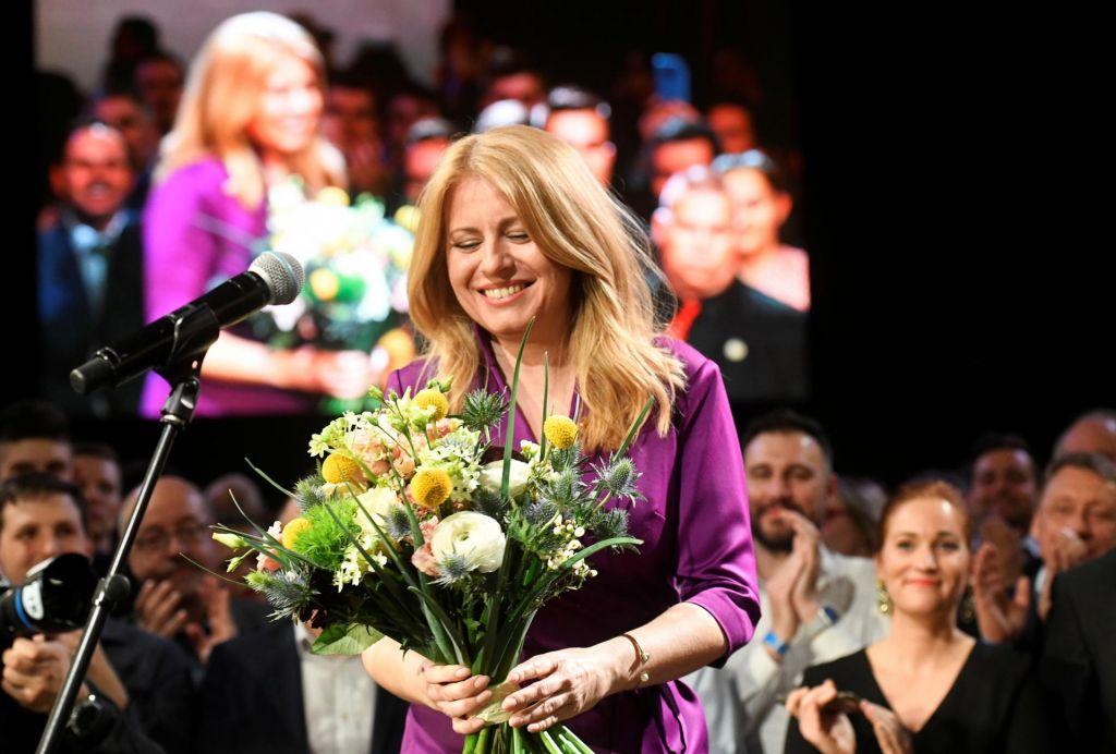 Čaputova zmagovalka predsedniških volitev na Slovaškem