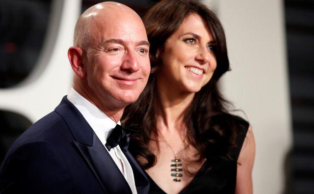 Zaradi intimnih fotografij, ki so znašle v rokah tabloida National Enquirer sta zakonca Bezos napovedala ločitev. FOTO: Danny Moloshok/Reuters