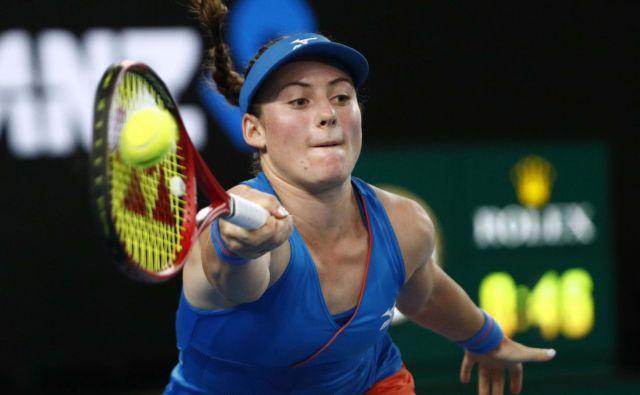 Tamara Zidanšek se je prebila med 32 na turnirju v Charlestonu.<br /> FOTO: Reuters