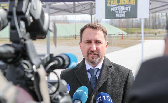 Igor Velov, direktor Javne agencije RS za varnost prometa.<br /> FOTO: Marko Feist