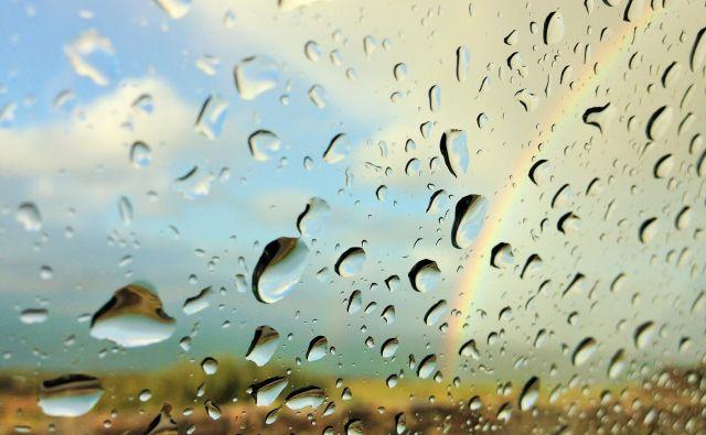 Ni le aprila muhasto vreme, tako je lahko tudi maja in junija. FOTO: Shutterstock