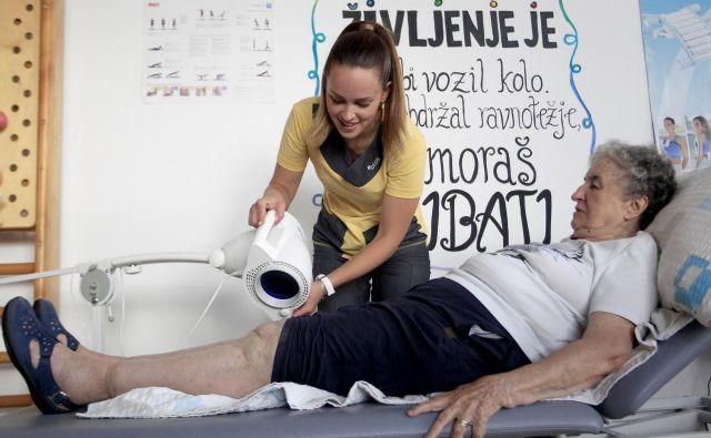 Potrebe ljudi po storitvah dolgotrajne oskrbe se samo povečujejo. Foto Roman Š�ipić