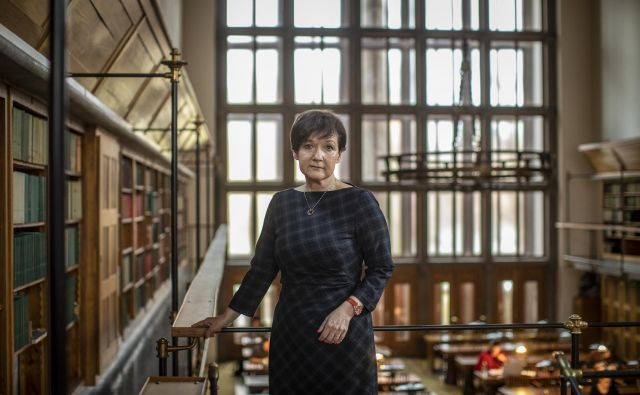 Martina Rozman Salobir, ravnateljica Narodne in univerzitetne knjižnice FOTO Voranc Vogel
