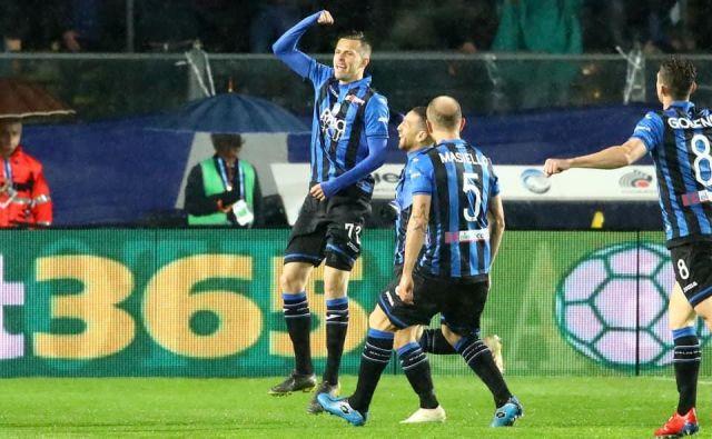 Z izjemno četrtkovo predstavo, dvema goloma in asistenco v prvih 15 minutah, je Josip Iličić znova navdušil italijanske nogometne strokovnjake. FOTO: AFB