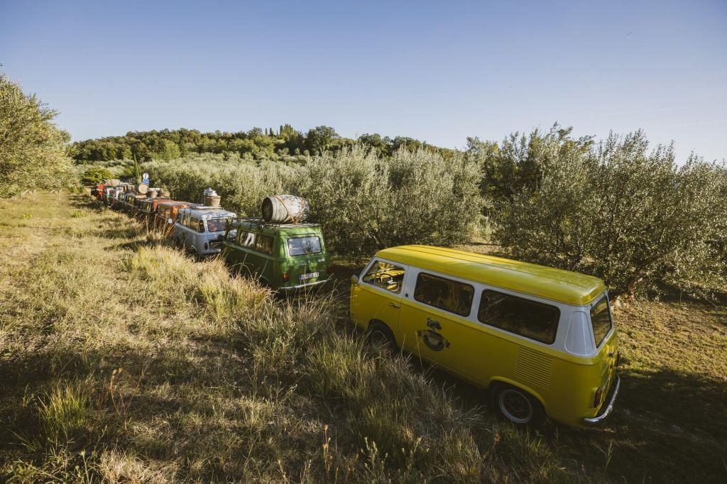 FOTO:S starodobniki po oljčnih poteh slovenske Istre