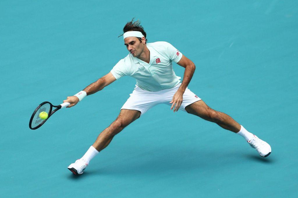 Federer v štirih letih pozabil, kako drseti po pesku