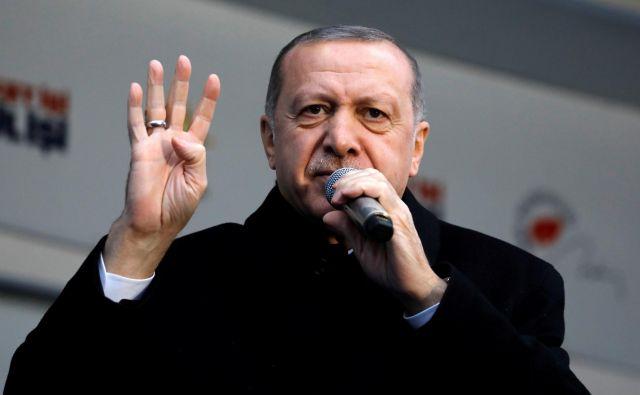 Recep Tayyip Erdoğan. FOTO: Umit Bektas/Reuters