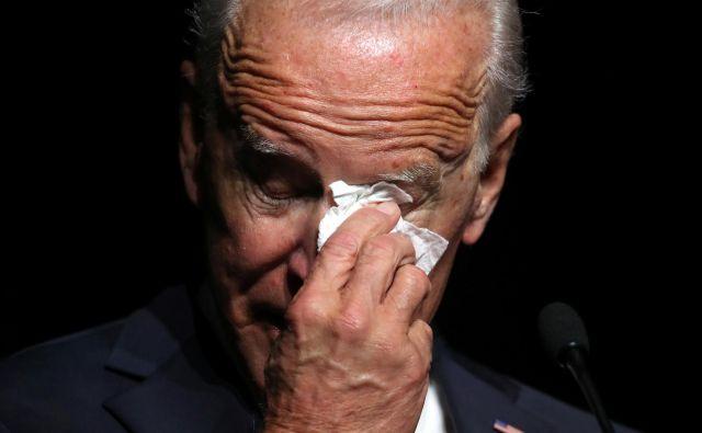 Joe Biden je potencialni kandidat demokratov za predsedniške volitve leta 2020. FOTO: Jonathan Ernst/Reuters