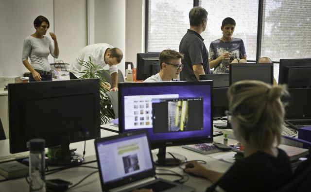 Podjetje Resalta je medijska hiša Delo v letu 2018 nominirala za Delovo podjetniško zvezdo. FOTO: Jože Suhadolnik/Delo