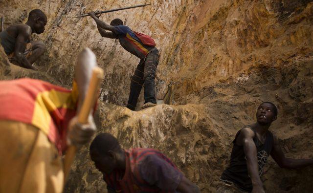 Rudnik zlata Ndassima v Srednjeafriški republiki domnevno varujejo plačanci ruske zasebne vojske Wagner. Foto Reuters