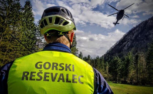 Gorski reševalci so kot prostovoljci na razpolago noč in dan. FOTO: Matjaž Šerkezi