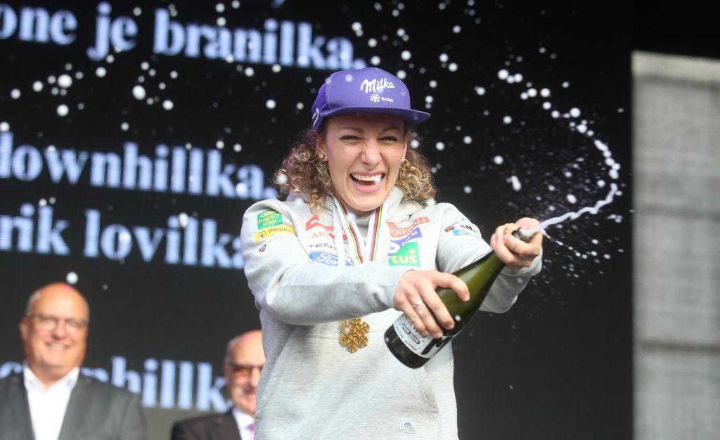 FOTO:Mariborska »čaga« s svetovno prvakinjo