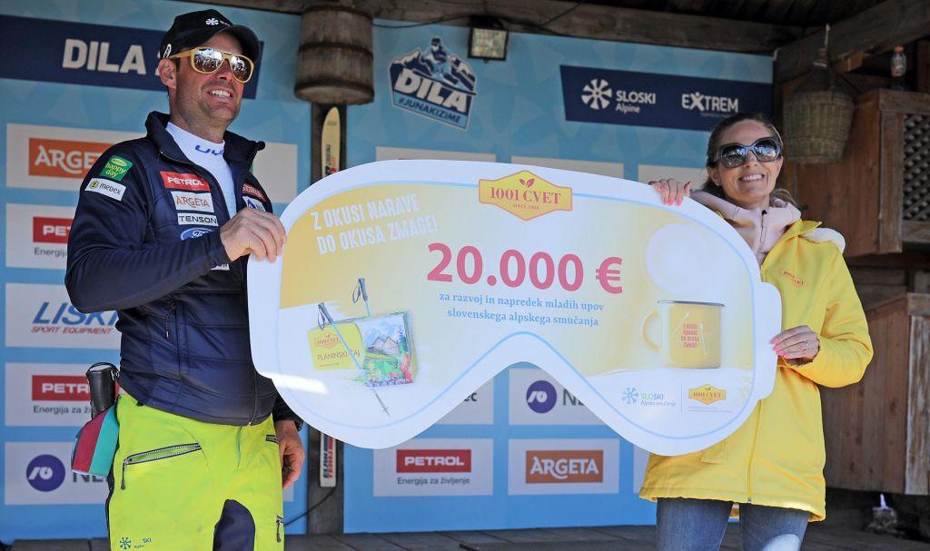 Mladim smučarskim upom kar 20.000 evrov