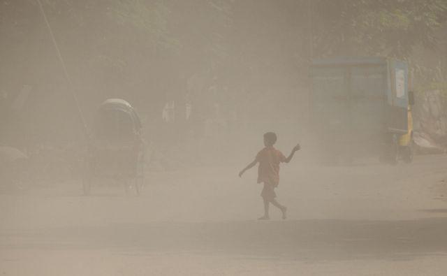 Bangladeški otrok FOTO: AFP