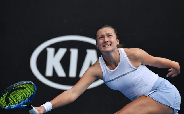 Dalila Jakupović je dobro začela turnir v Monterreyju. FOTO: AFP