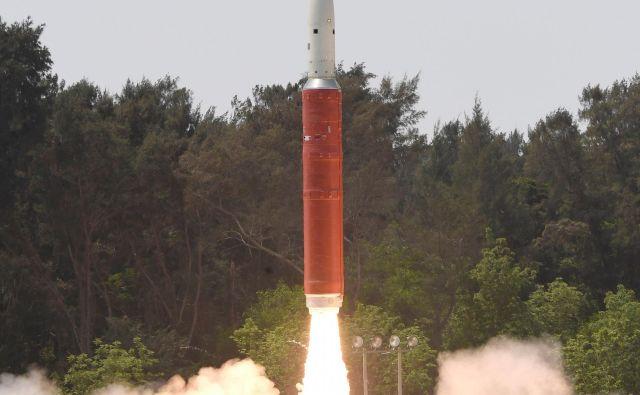 Indija je pred dnevi uspešno sestrelila satelit. Država je šele četrta s takšno tehnologijo. FOTO: Reuters