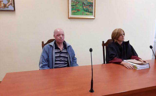 Ivan Mikec se bo z odvetnico Jasno Simčič na sodbo pritožil. FOTO: Tanja Jakše Gazvoda