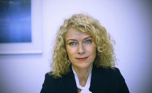 Predvsem me skrbi stabilnost javnih financ, pravi Karmen Dietner. FOTO:Blaž Samec/Delo