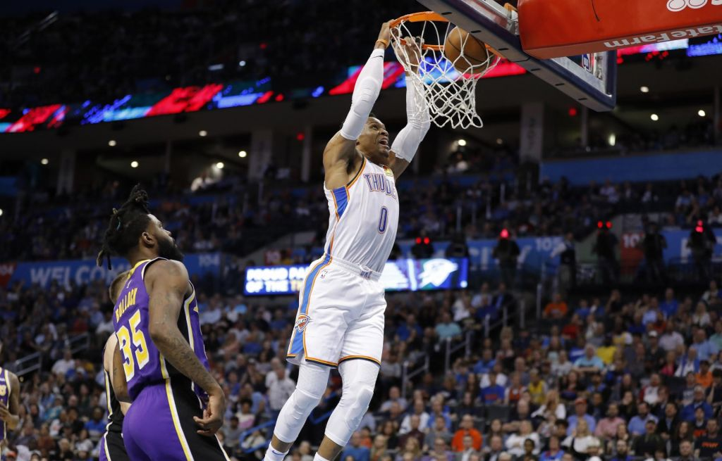 Osupljivih 20-20-20 za Westbrooka (VIDEO)