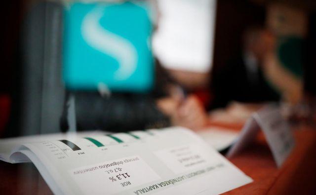 Novinarska konferenca zavarovalnice Sava Re, v Ljubljani, 9. marca 2017. [Sava Re,zavarovalnice,zavarovalništvo,predsedniki,podjetja,gospodarstvo,uprave] Foto Uroš Hočevar