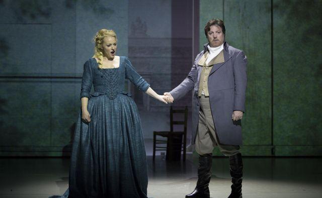 V osrednjih vlogah bosta nastopila Sabina Cvilak in Renzo Zulian. Foto Miran Waldhütter