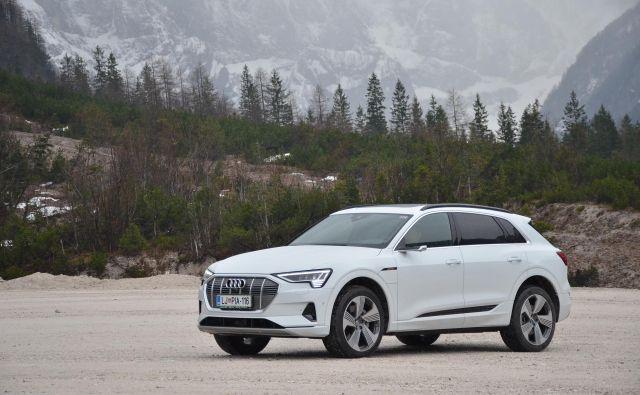 Audi e-tron kot začetnik in hkrati vrh električne ponudbe te znamke Foto Gašper Boncelj