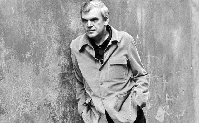 Milan Kundera živi v Franciji, redko obišče domovino.