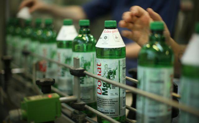 Mineralno vodo Donat Mg iz Rogaške Slatine prodaja Droga Kolinska v več kot trideset držav sveta. Foto Jure Eržen