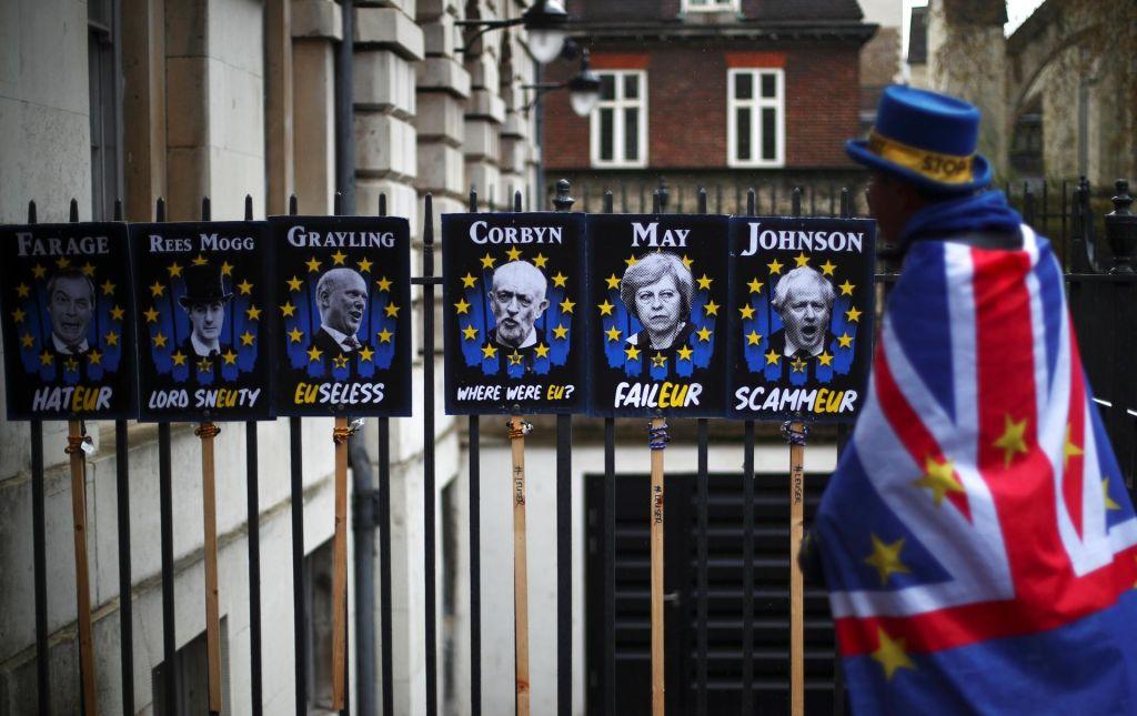 Razklana Velika Britanija, enotna Evropa