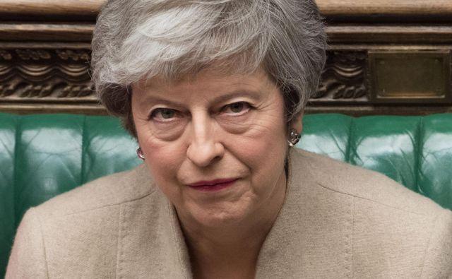 Predlog britanske premierke za podaljšanje brexita do 30. junija je EU enkrat že zavrnila. FOTO: JESSICA TAYLOR/ Afp