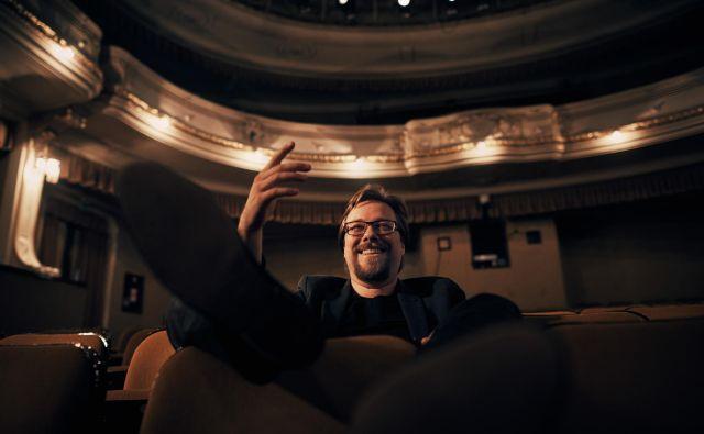 Kristijan Krajnčan doživlja glasbo izrazito vizualno in je kot skladatelj filmske glasbe podpisal že tri celovečerce in devet kratkih filmov. Foto arhiv Cankarjevega doma