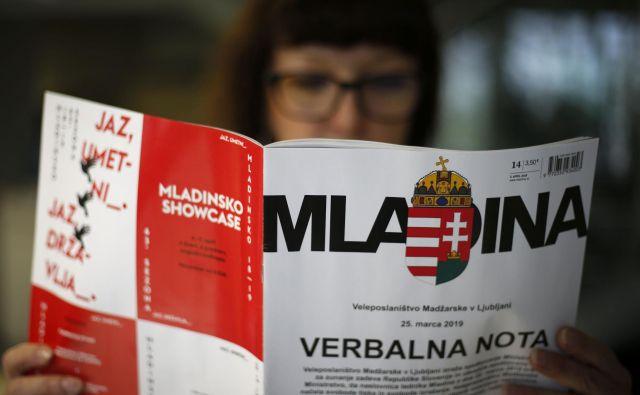 V <em>Mladini </em>jezo Orbánove vlade pripisujejo dejstvu, da se je Mladinina karikatura v zadnjih tednih precej hitro razširila znotraj madžarske javnosti. FOTO: Matej Družnik/Delo