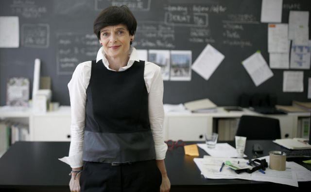 »Premalo se zavedamo, kakšen vpliv ima prostor na družbo,« pravi vodja festivala OHS, arhitektka Lenka Kavčič. Foto Blaž Samec