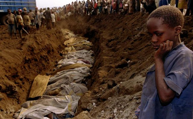 V sto dneh je bilo ubitih več kot 800.000 ljudi. Hutujci so pobili več kot 70 odstotkov Tutsijev. FOTO: Reuters
