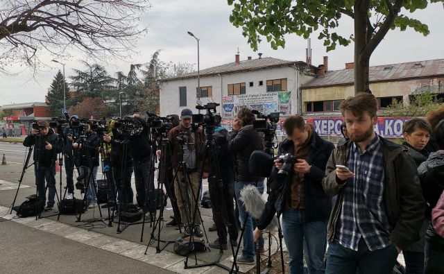 Novinarji so po dvajsetih letih le dočakali obsodbo. Foto M. Z.