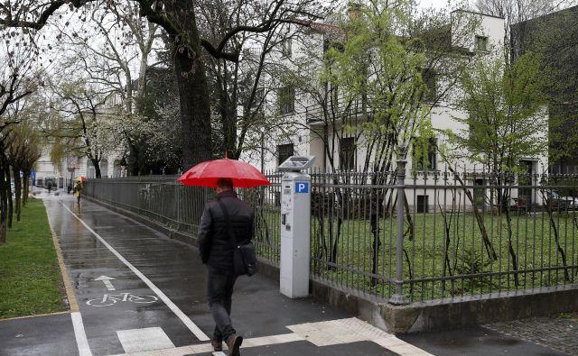 Za vilo v središču Ljubljane, ki jo obdaja razkošen vrt, je Društvo slovenskih pisateljev odštelo toliko, kolikor so stali trije dražji modeli mercedesov. FOTO: Blaž Samec/Delo