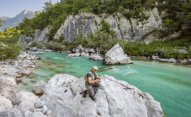 Mir v kanjonu reke Soče. Foto Tristan Shu