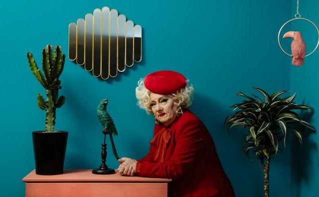 Hilda, fina dama, po fotografiji sodeč FOTO: Urša Premik