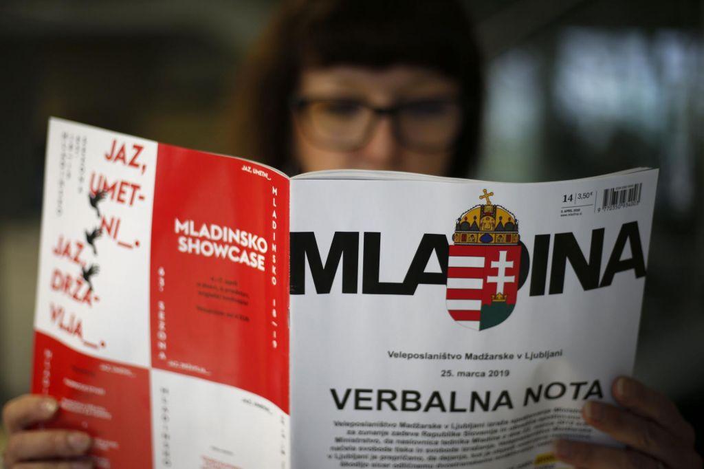 FOTO:Repovž: Nota madžarske ambasadorke nam kaže, s kom ima opraviti slovenska država
