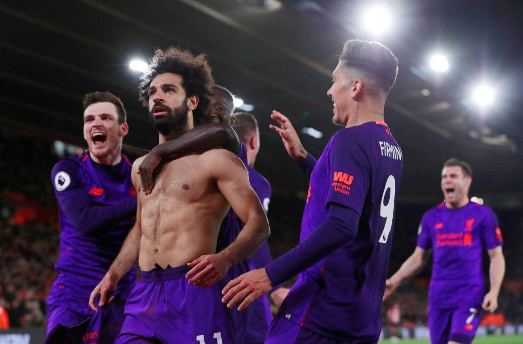 Salah v polno, Liverpool spet na vrhu