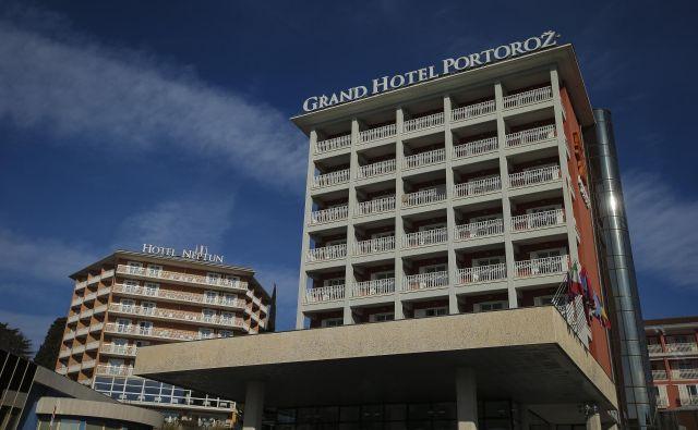 Hoteli Portorož. Foto Jože Suhadolnik