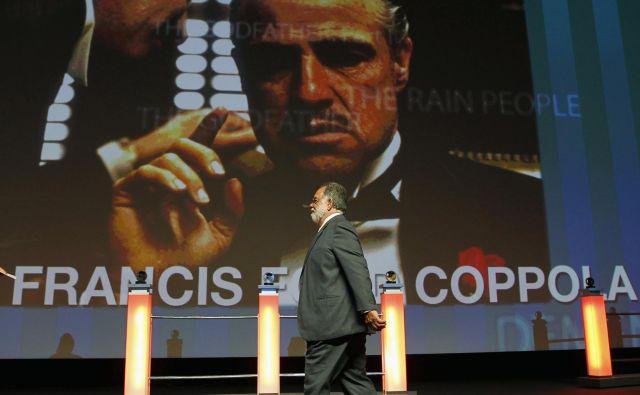 Francis Ford Coppola leta 2011, ko so se na festivalu poklonili njegovi karieri. FOTO: Regis Duvignau/Reuters