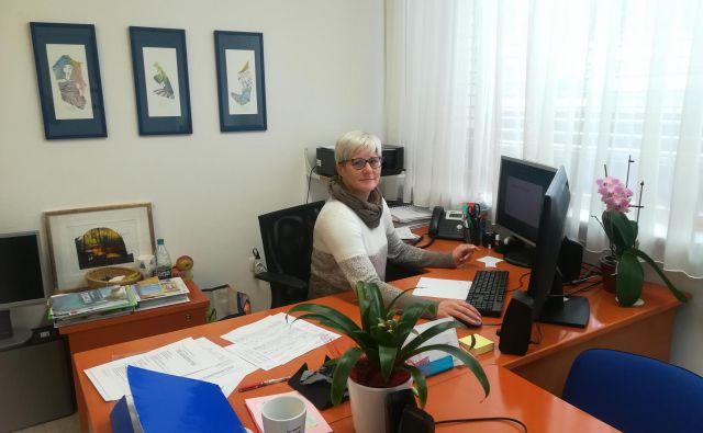 V prvem mandatu je ugotovila, da je delo ravnatelja precej več kot le pedagoško delo. FOTO: Anja Intihar
