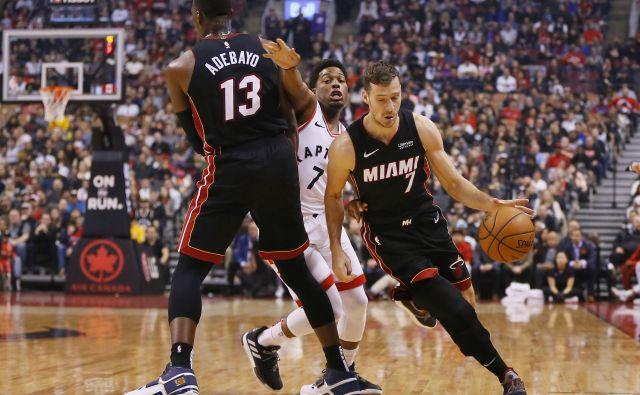 Goran Dragić tudi v Torontu ni igral tako dobro, kot si je želel pred tekmo. Foto USA Today